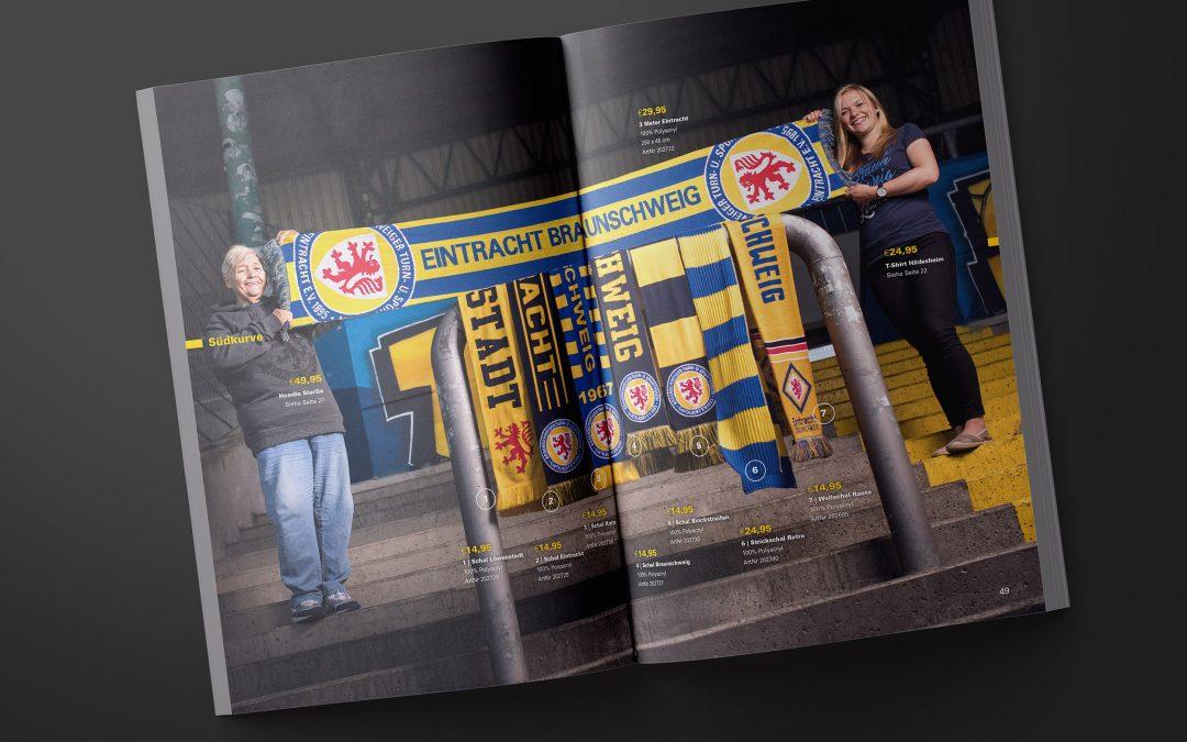 Eintracht Braunschweig Fanshop Katalog 2017